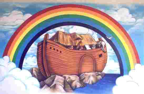 Центральным аттракционом станет 150-метровый Ноев ковчег, выполненный в...